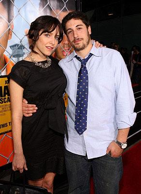Jenny Mollen and Jason Biggs at the Los Angeles premiere of New Line Cinema's Harold and Kumar Escape from Guantanamo Bay