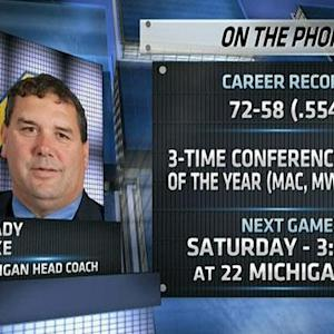 Brady Hoke on Michigan State match-up