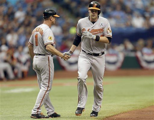 Wieters, Davis, Jones power Orioles past Rays 7-4