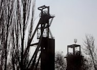 File picture. A view of the Zasyadko coal mine in the eastern Ukrainian city of Donetsk. It may seem a million miles away from the sun and sand of Brazil, but Brazilian footballers have made this unlikely location on the fringes of Europe a home from home