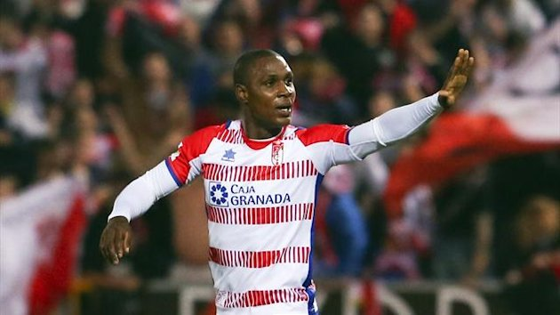 Granada's Odion Ighalo reacts (Reuters)