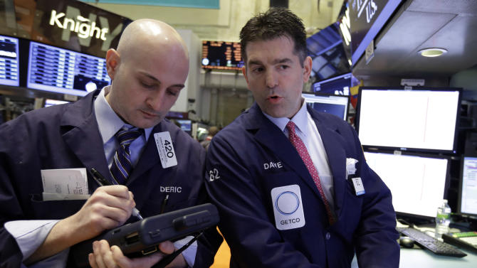 Better jobs news, higher profits lift stock prices
