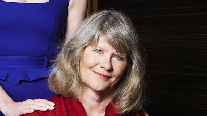 """FILE - In this Sept. 13, 2012 file photo, actress Judith Ivey poses for a portrait at the Empire Hotel in New York. Producers of """"The Audience"""" said Monday, Nov. 24, 2014 that Ivey, the two-time Tony Award winner and one-time cast member of """"Designing Women,"""" will play former British prime minister Margaret Thatcher in """"The Audience,"""" opening in New York on Feb. 17. (Photo by Dan Hallman/Invision/AP, File)"""