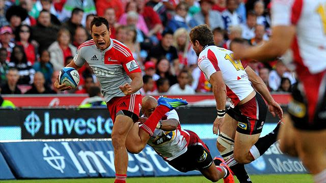 Super Rugby - Taylor earns Crusaders narrow win over Stormers