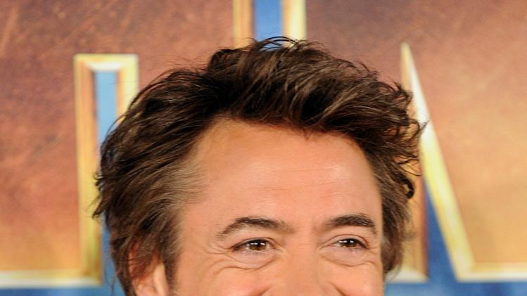 Iron Man 2 Photocall 2010 Robert Downey Jr.