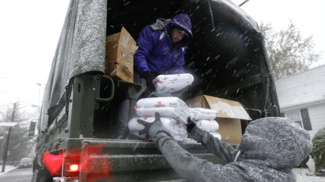 Sandy likely biggest US relief effort since 2005