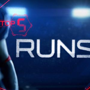 Week 15: Top 5 runs