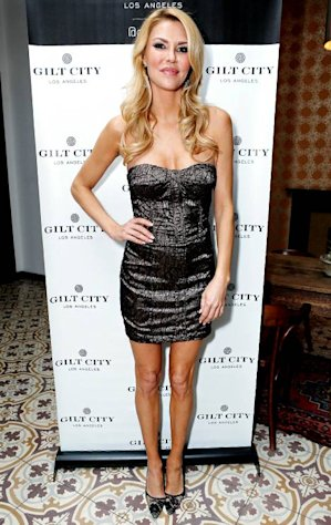 Brandi Glanville's Sexy Dress: She Designed It Herself!
