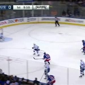 Ben Bishop Save on Dominic Moore (10:03/1st)