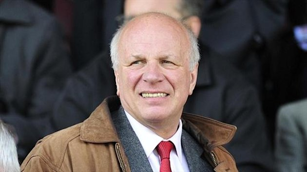 Greg Dyke, pictured, will succeed David Bernstein as FA chairman in July