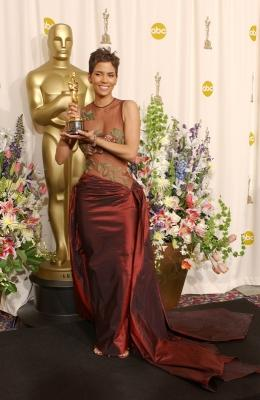 Halle Berry at the 2002 Oscars -- Getty Premium