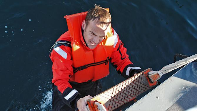 This undated photo provided by the U.S. Coast Guard shows Coast Guard Chief Petty Officer Terrell Horne III, stationed on the Cutter Halibut. Horne III, a Boatswain Mate, was killed in the early morning of Sunday Dec. 2, 2012, from injuries sustained during law enforcement operations near Santa Cruz Island, Calif. Horne, of Redondo Beach, was pronounced dead after being brought ashore at the Port of Hueneme, Ventura County chief deputy medical examiner James Baroni said. He suffered a traumatic head injury in the crash before dawn, Coast Guard officials said. (AP Photo/U.S. Coast Guard/ Lt. Stewart Sibert)