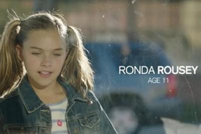 Ronda Rousey's little sister plays 11-year-old Ronda in awesome UFC 193 promo