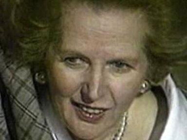 'Iron Lady' Margaret Thatcher Dies at 87