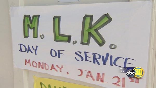 Valley residents celebrate MLK day