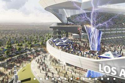New Chargers stadium will have a tower that SHOOTS LIGHTNING BOLTS