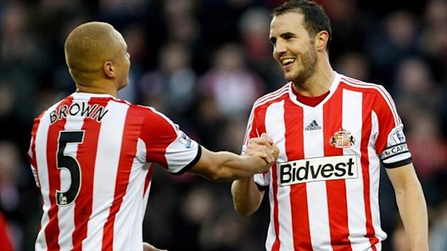 Wes Brown, left, and John O'Shea, right, are back to full fitness