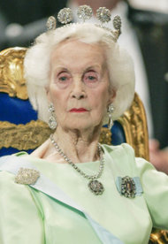 Princess Lilian of Sweden | Photo Credits: Henrik Montgomery/AFP/Getty Images