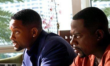 Will Smith and Martin Lawrence in Columbia's Bad Boys II
