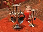 Crosby &amp; Taylor Handcrafted Pewter Items 
