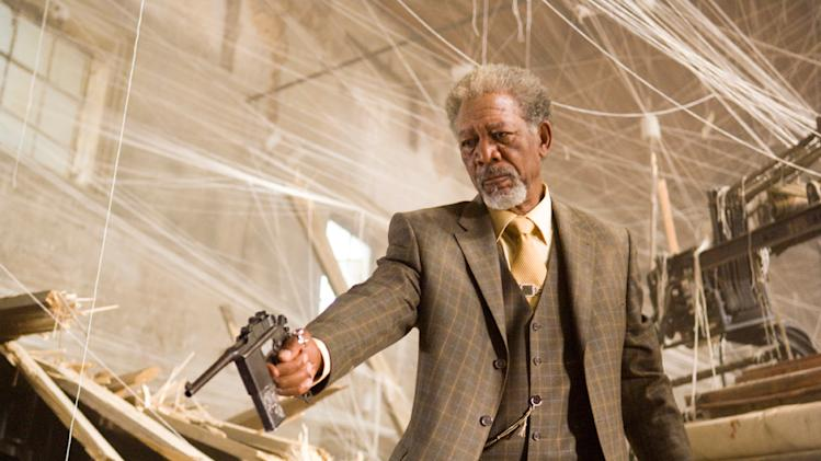 Universal Pictures Wanted 2008 Morgan Freeman