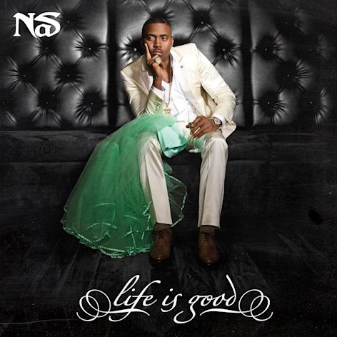 This CD cover image released by Def Jam shows &quot;Life is Good,&quot; the latest release by Nas. (AP Photo/Def Jam)