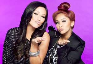 "Nicole ""Snooki"" Polizzi and Jenni ""JWoww"" Farley 
