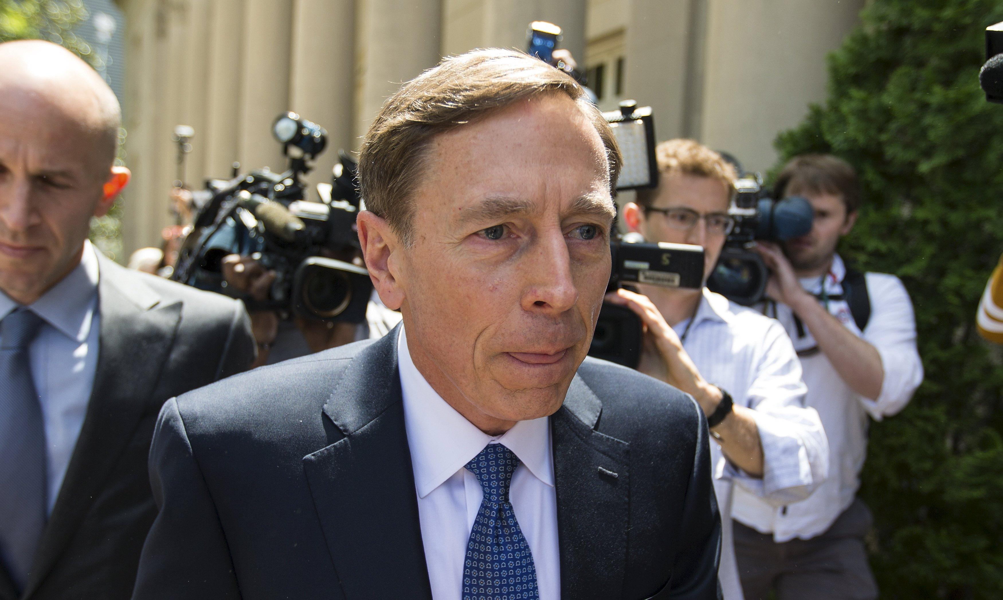 Ex-general, CIA chief Petraeus gets probation, $100,000 fine in leak case