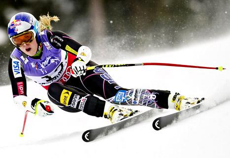 Lindsey Vonn Airlifted to Hospital After Skiing Accident in Austria: Pictures