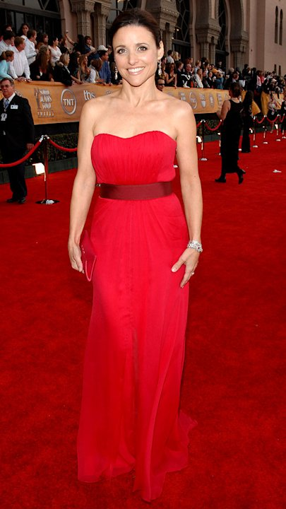 Julia Louis-Dreyfus at the 13th Annual Screen Actors Guild Awards.