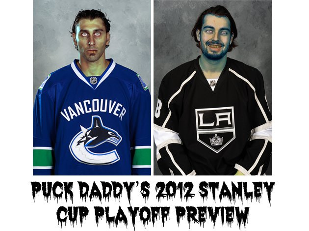 Vancouver Canucks Vs. Los Angeles Kings: Puck Daddy's NHL 2012 Stanley Cup Playoff Preview