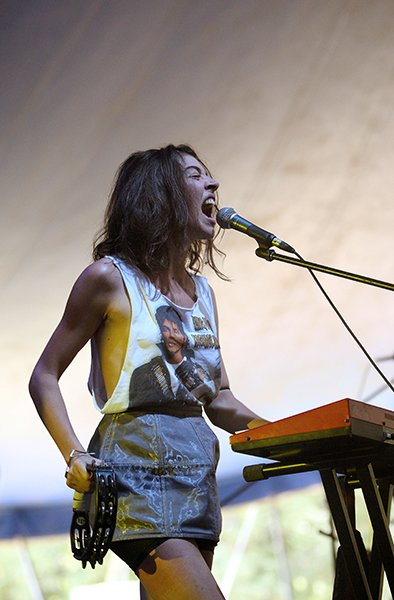 At the Falls Festival in 2009