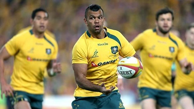 Kurtley Beale follows James O'Connor out of the Melbourne Rebels exit door
