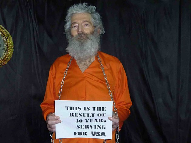This undated handout photo provided by the family of Robert Levinson, shows retired-FBI agent Robert Levinson. Levinson, 64, went missing on the Iranian island of Kish in March 2007. Levinson&#39;s family received these photographs of him in April 2011. U.S officials suspect the Iranians or its proxies are holding Levinson hostage. (AP Photo/Levinson Family)