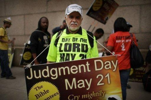 Osvaldo Colon walks the streets of New York telling people that the world will end on Saturday, May 21. With an aging fundamentalist Christian preacher warning that Saturday is Judgment Day, some Americans have been getting ready