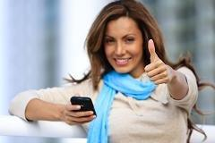 Who has happiest mobile users? Hint: Think small