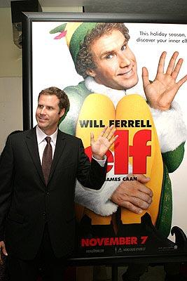 Will Ferrell at the New York premiere of New Line's Elf