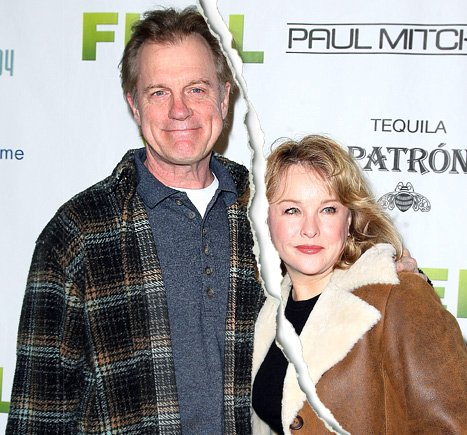Stephen Collins Ending 27-Year Marriage to Wife Faye Grant