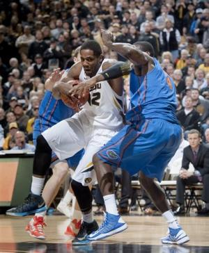 Bowers, Missouri rally, upend No. 5 Florida 63-60