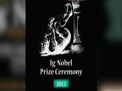 Ig Nobel Awards Honor Weird, Funny Discoveries