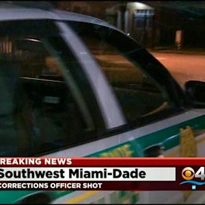 MDPD: Off-Duty Correctional Officer Shot In SW Miami-Dade