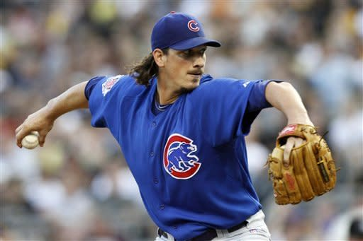 Samardzija leads Cubs to 2-0 win over Pirates