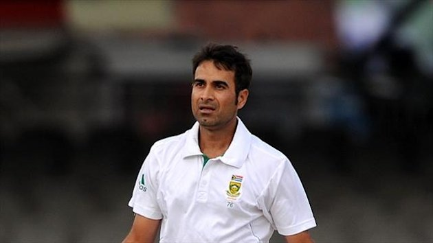 Imran Tahir claimed eight wickets in the match