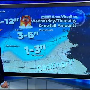 WBZ AccuWeather Mid-Afternoon Forecast For March 10