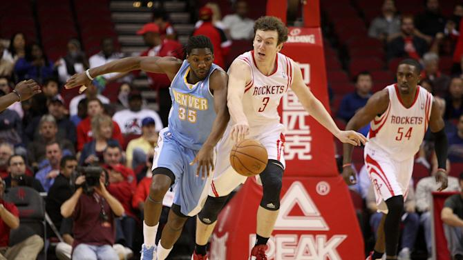 NBA: Denver Nuggets at Houston Rockets