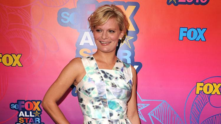 """Raising Hope's"" Martha Plimpton arrives at the Fox 2010 Summer TCA All-Star Party on August 2, 2010 in Santa Monica, California."
