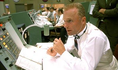 Ed Harris as flight director Gene Kranz in Universal's Apollo 13