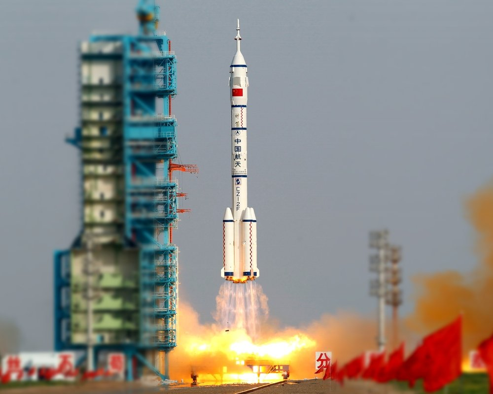 China Prepares Longest Ever Manned Space Mission, Blasting ...