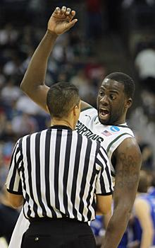 Draymond Green's 'will to win' is Michigan State's biggest advantage as its Final Four quest continues