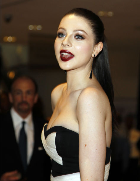 Michelle Trachtenberg arrives for the White House Correspondents Dinner Saturday, April 30, 2011 in Washington.(AP Photo/Alex Brandon)